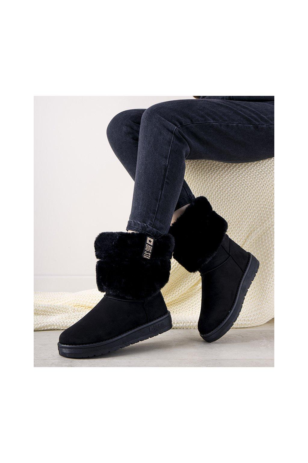 Dámske topánky BS čierne kód II274123 - GM