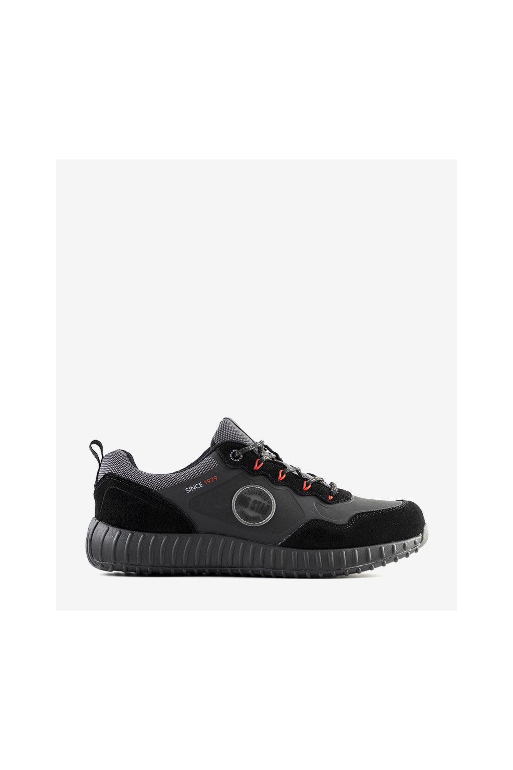 Pánske topánky tenisky čierne kód II174248 - GM