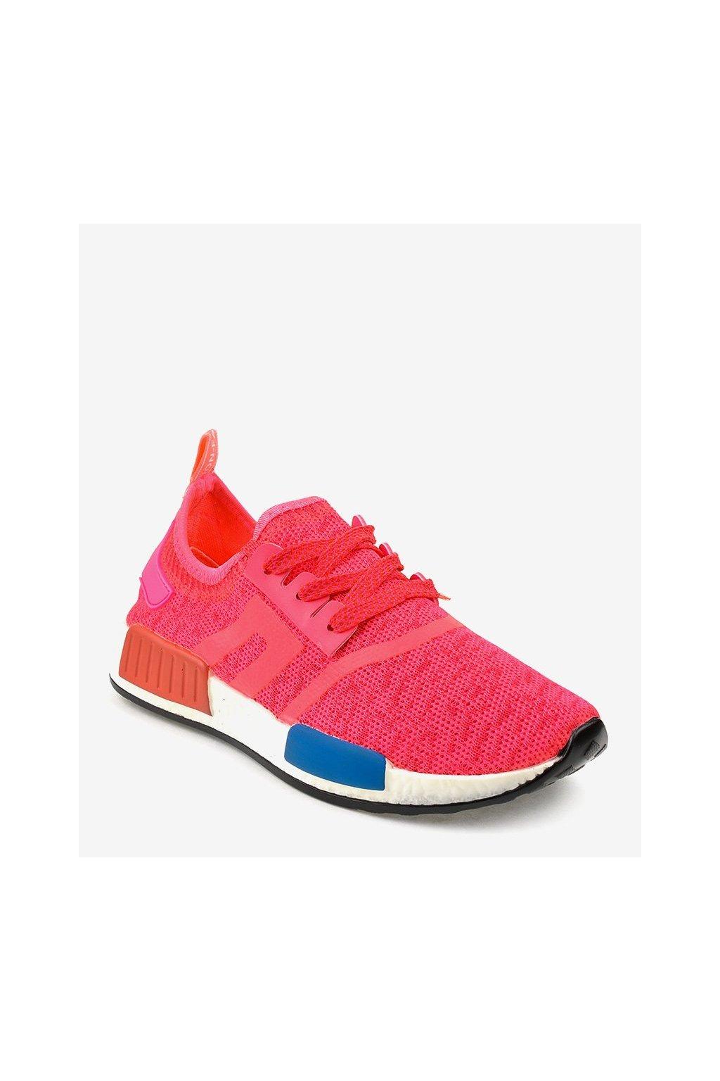 Dámske topánky tenisky ružové kód MD01B-4 PINK - GM