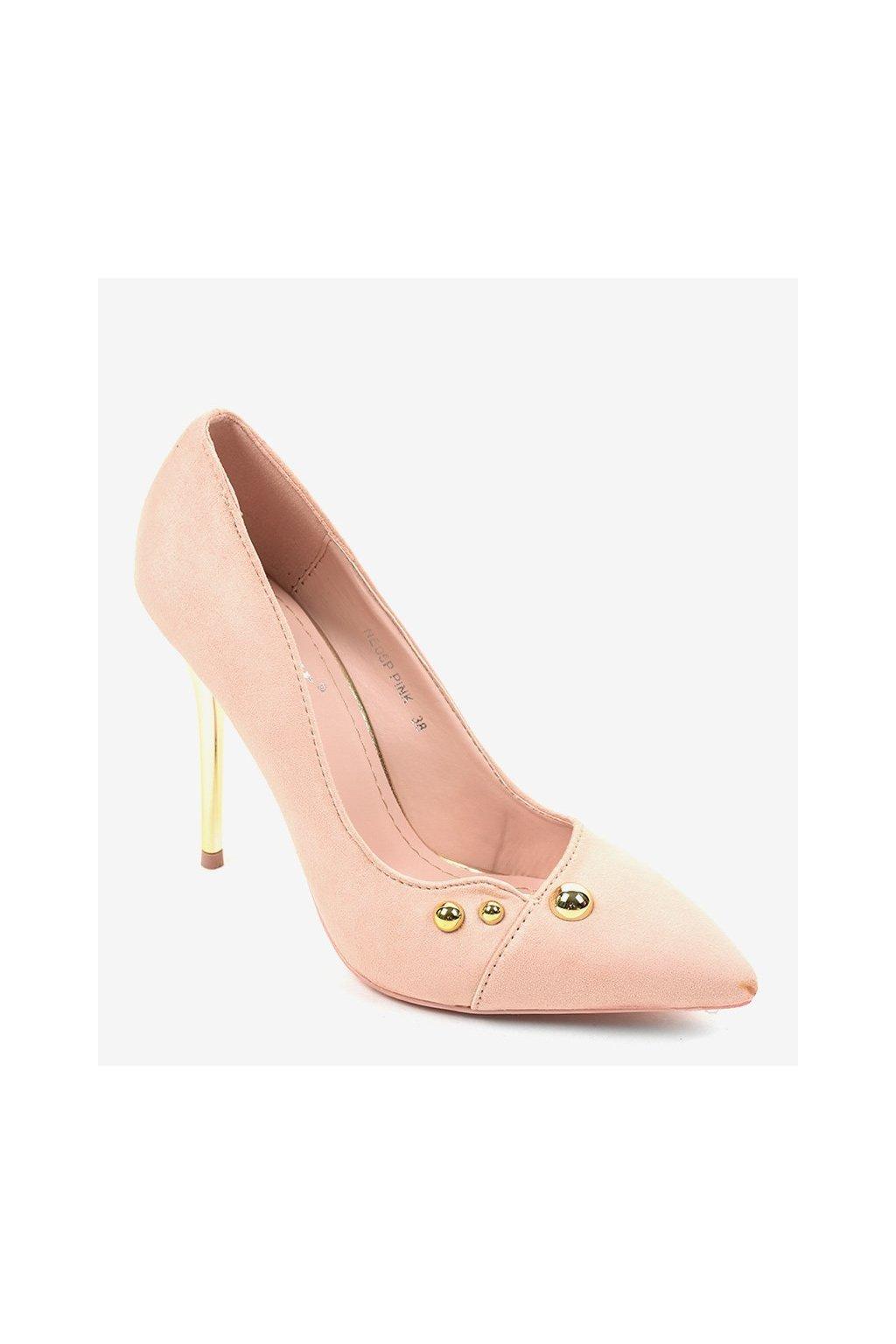 Dámske topánky lodičky ružové kód NE05P PINK - GM
