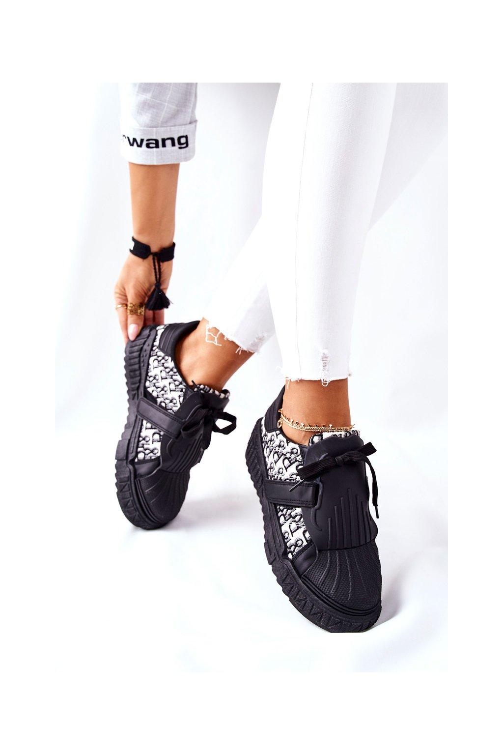 Dámske tenisky farba čierna kód obuvi NB513 BLK