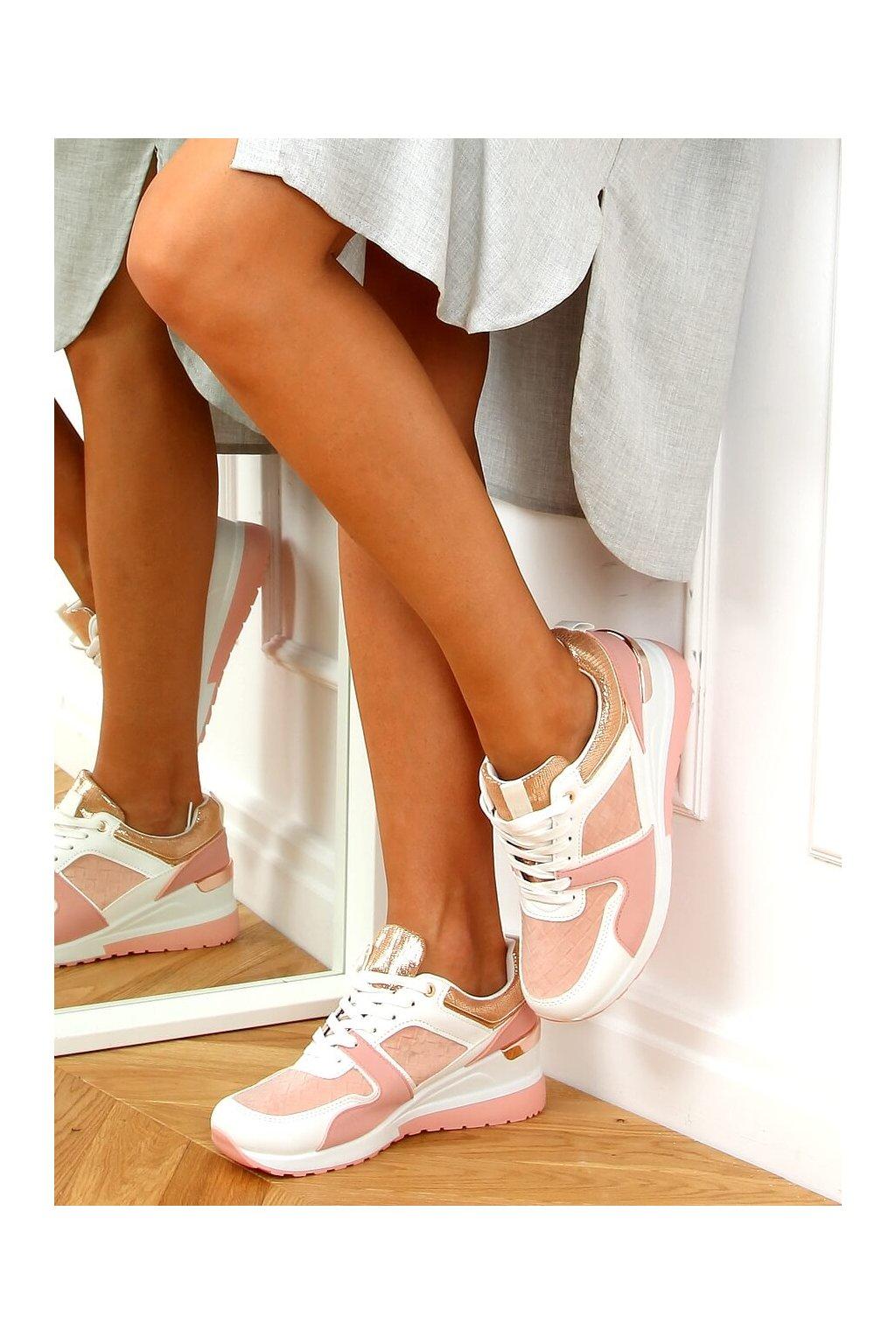 Dámske tenisky ružové AD-353