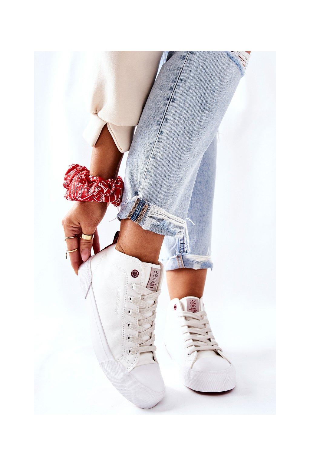 Dámske tenisky farba biela kód obuvi II2R4033C WHITE