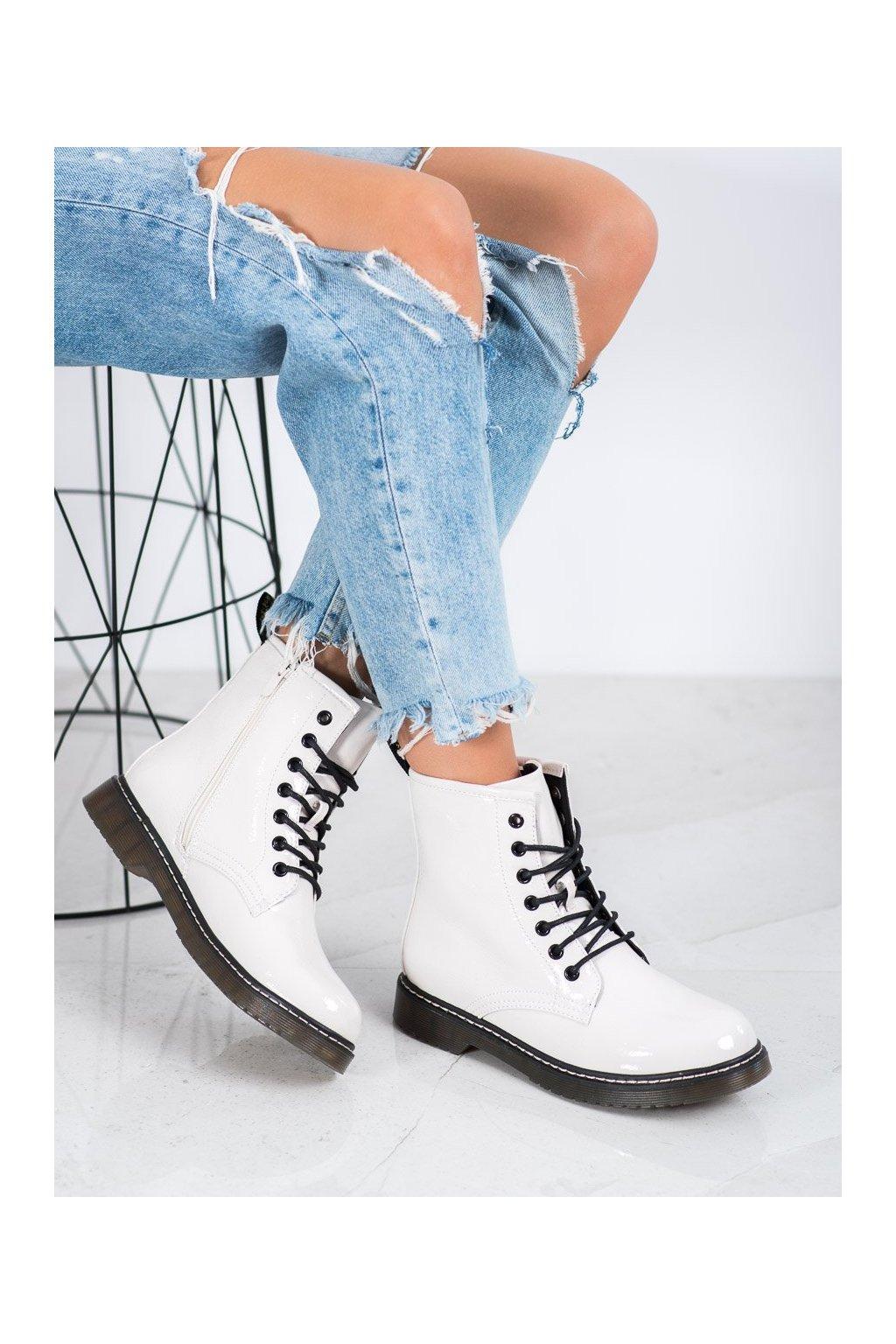 Biele dámske topánky Evento kod 20BT35-3001W