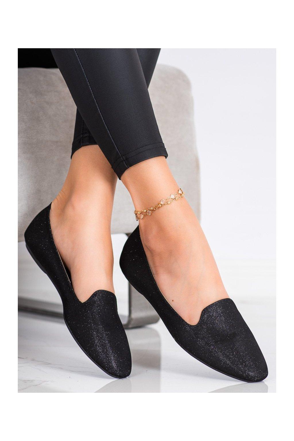 Čierne dámske balerínky Super mode kod 5259B