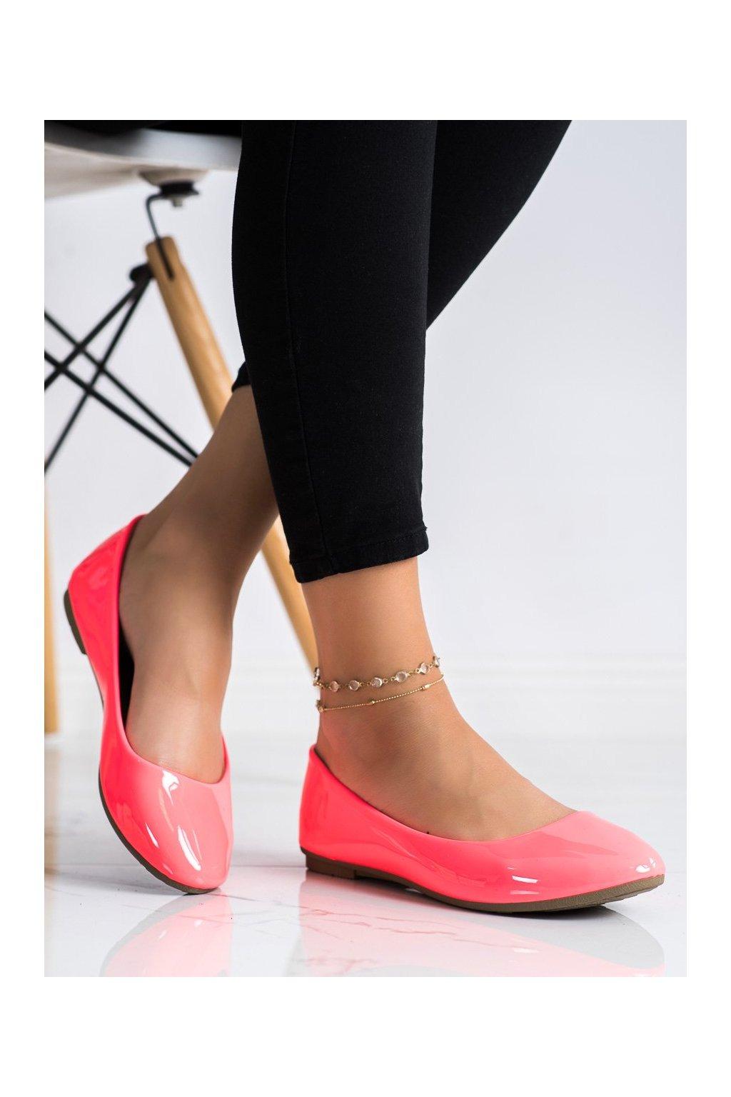 Ružové dámske balerínky Diamantique kod 9988-60FU
