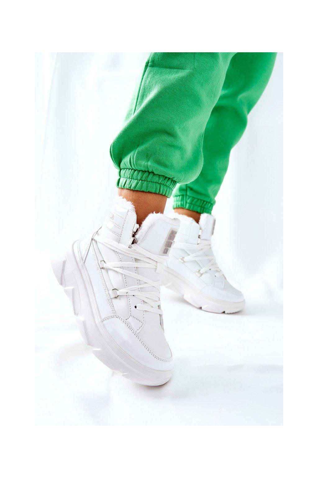 Dámske snehule farba biela kód obuvi II274463 WHT