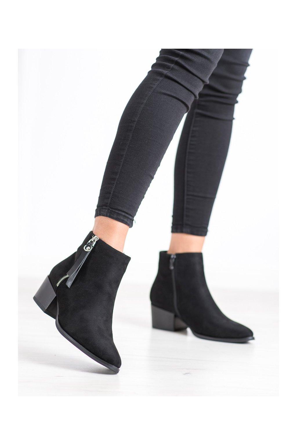 Čierne dámske topánky Evento kod 20BT35-3028B