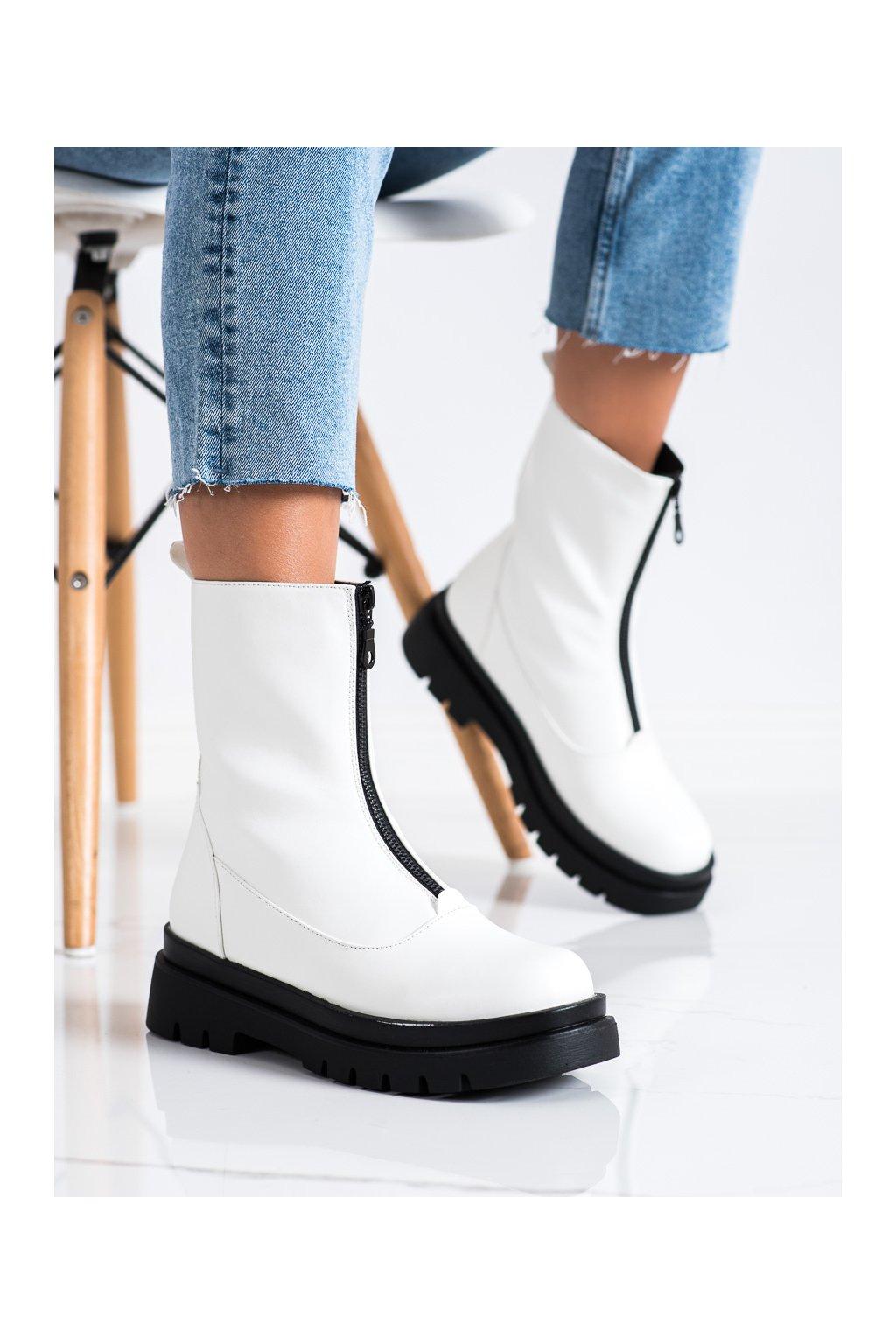 Biele dámske topánky Evento kod 21BT35-4259W