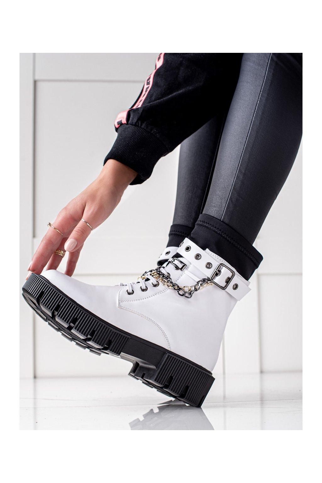 Biele dámske topánky Seastar kod JJ01W