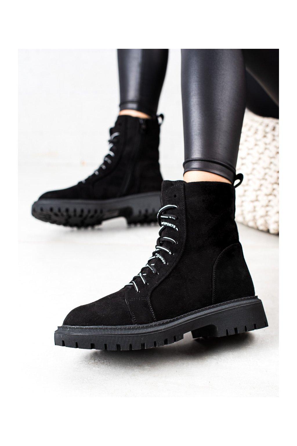 Čierne dámske topánky Goodin kod GD-DO-602B