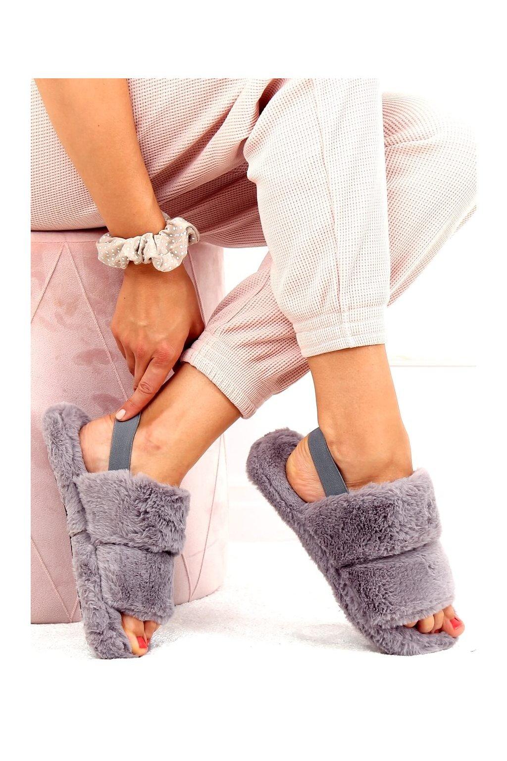 Damske ponožky sivé N-92