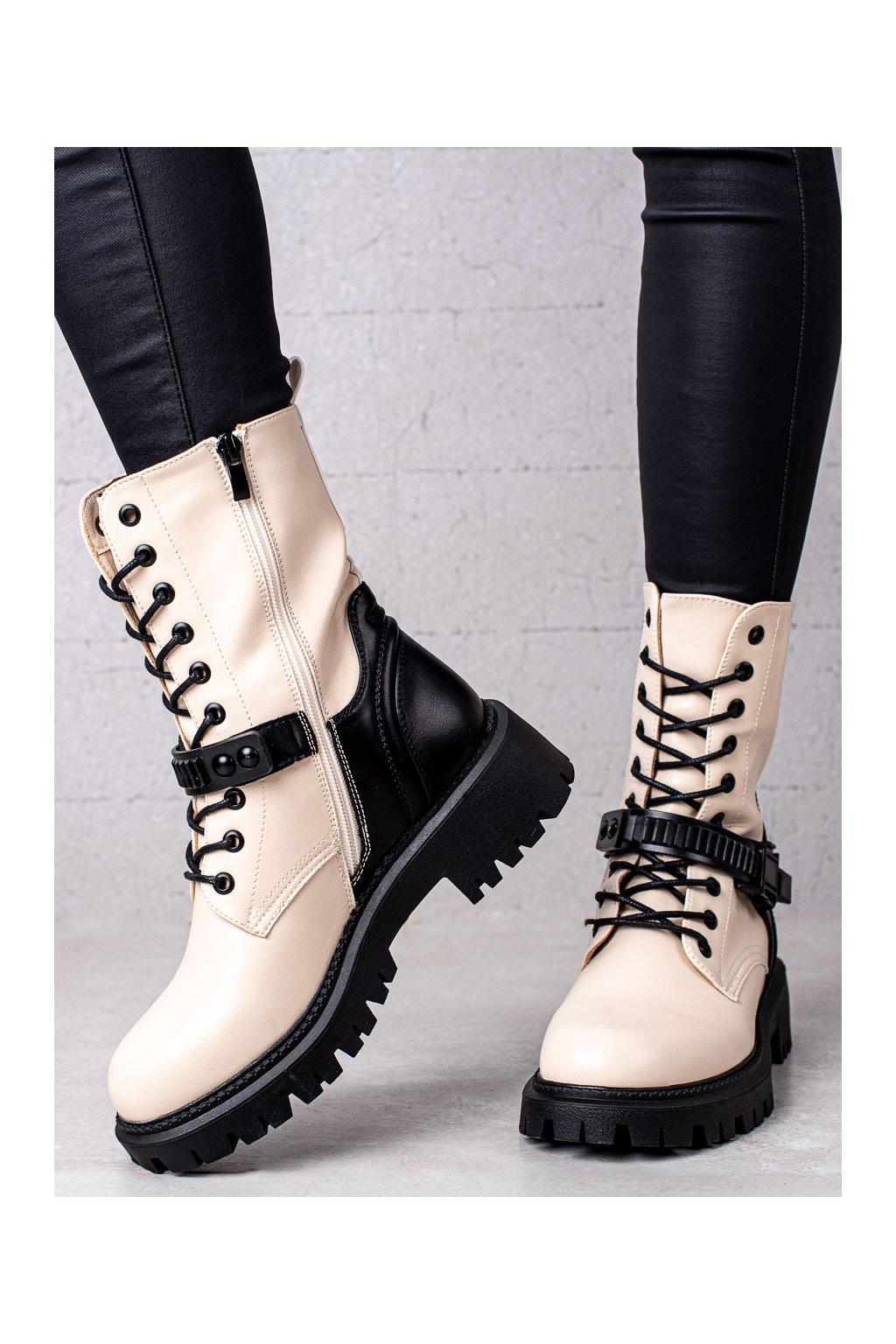 Hnedé dámske topánky Seastar kod JJ05BE/B