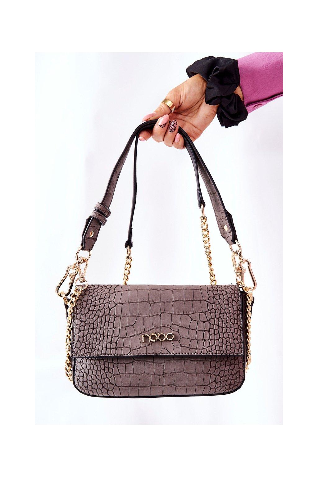 Dámska kabelka sivá kód kabelky NBAG-L2150-C020
