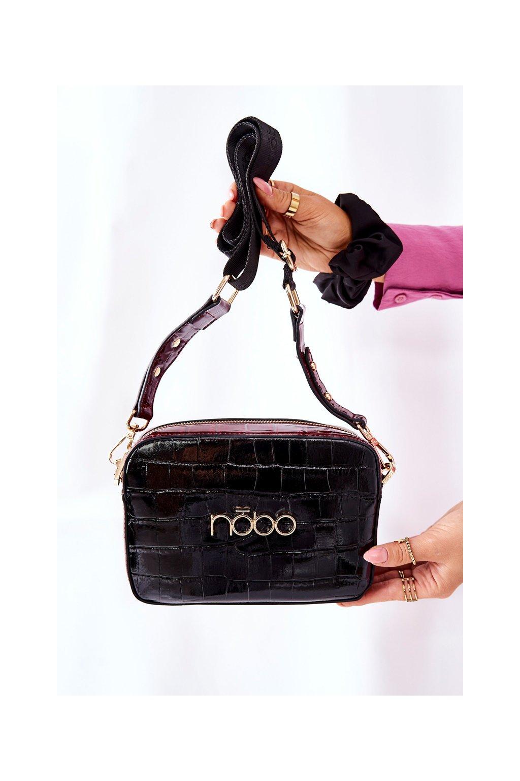 Dámska kabelka čierna kód kabelky NBAG-L1740-CM20 BLK