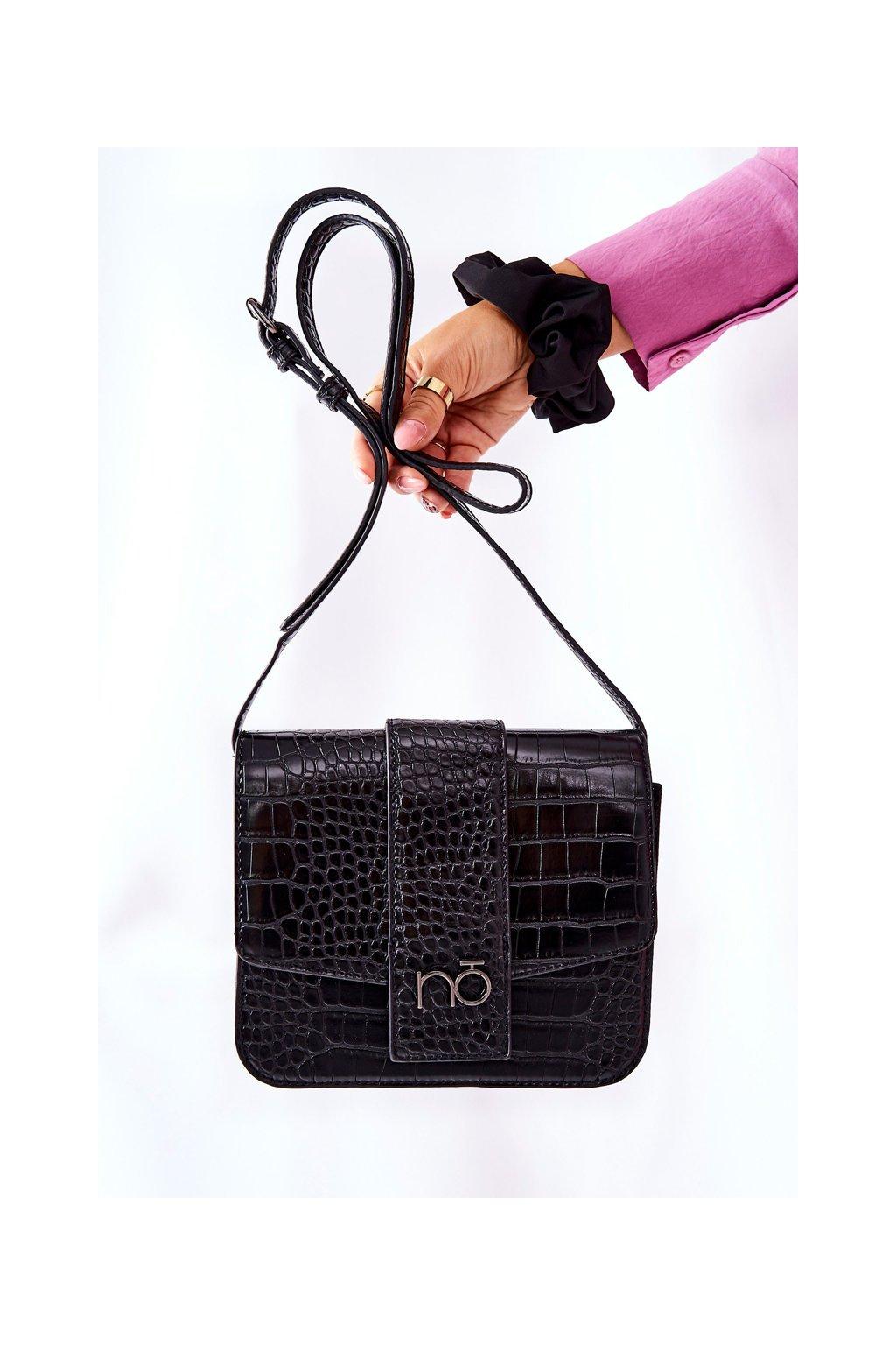 Dámska kabelka čierna kód kabelky NBAG-L1100-C020 BLK