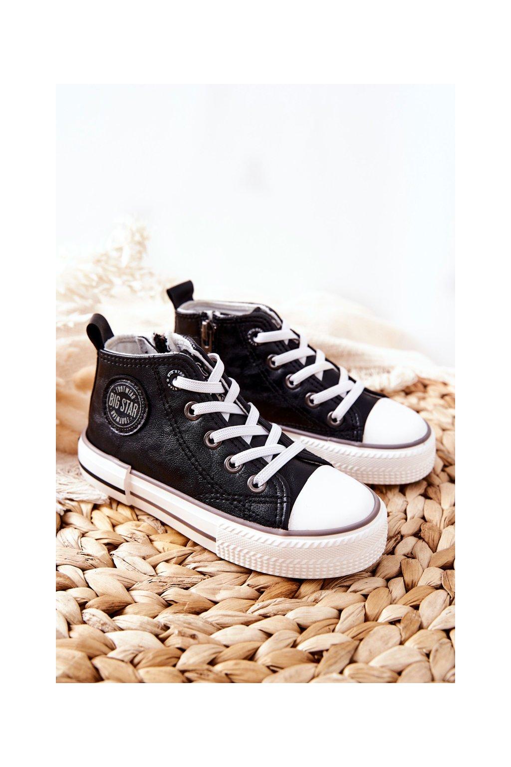 Detské tenisky farba čierna kód obuvi II374003 BLK
