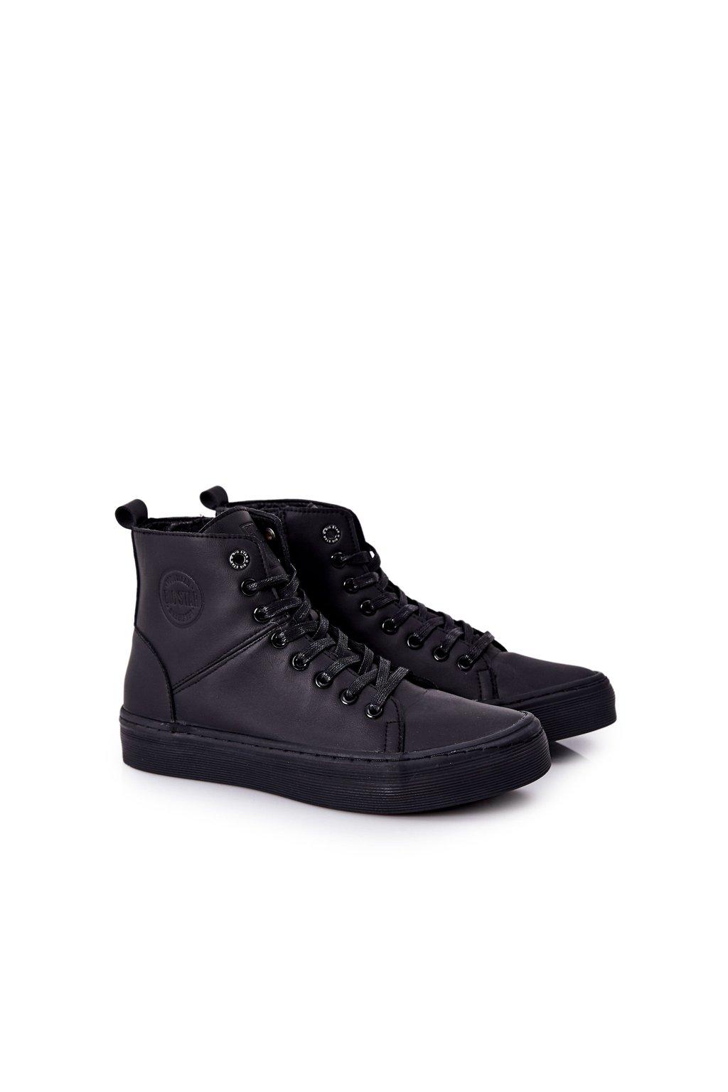 Čierna obuv kód topánok II174048 BLK