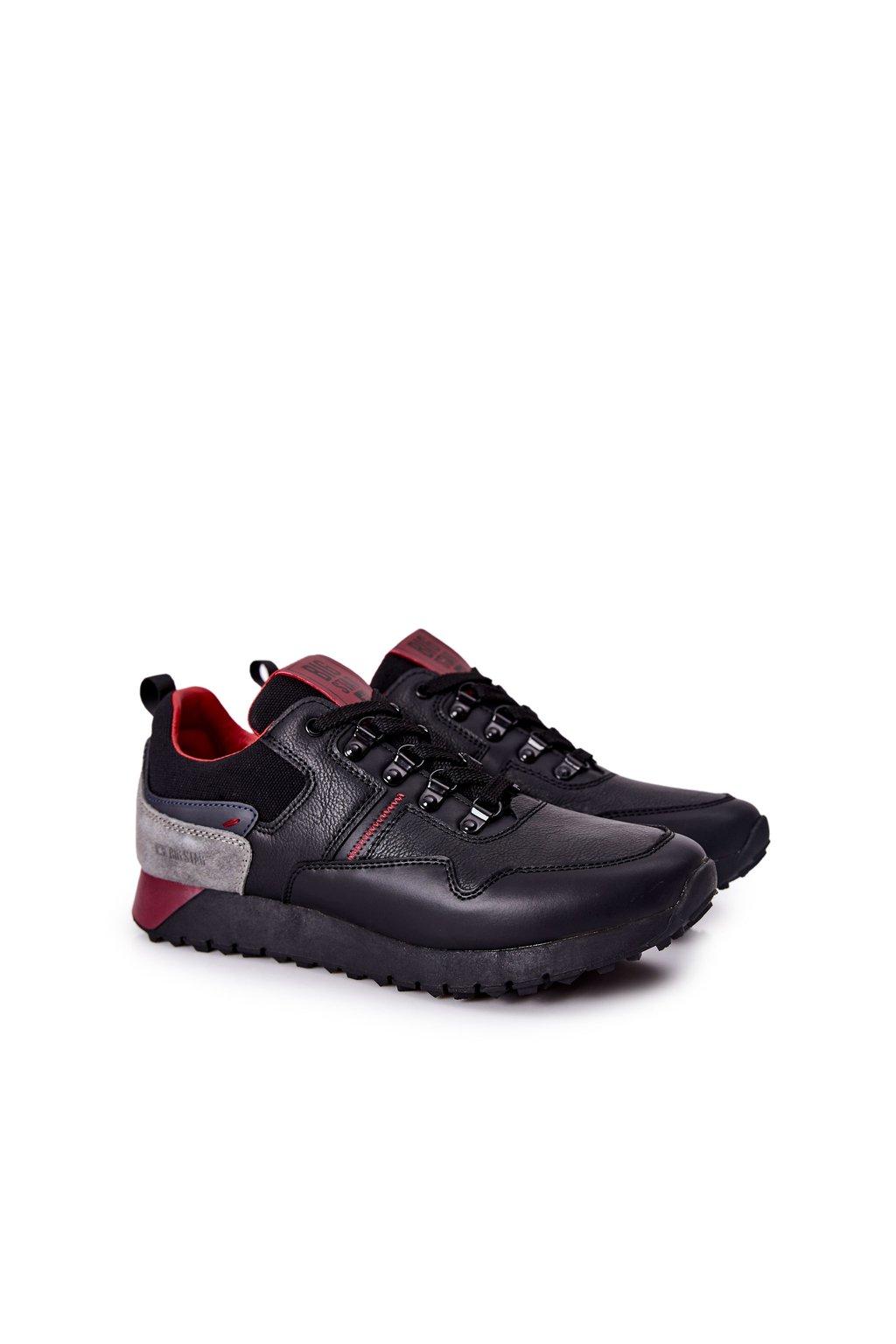 Čierna obuv kód topánok II174090 BLK