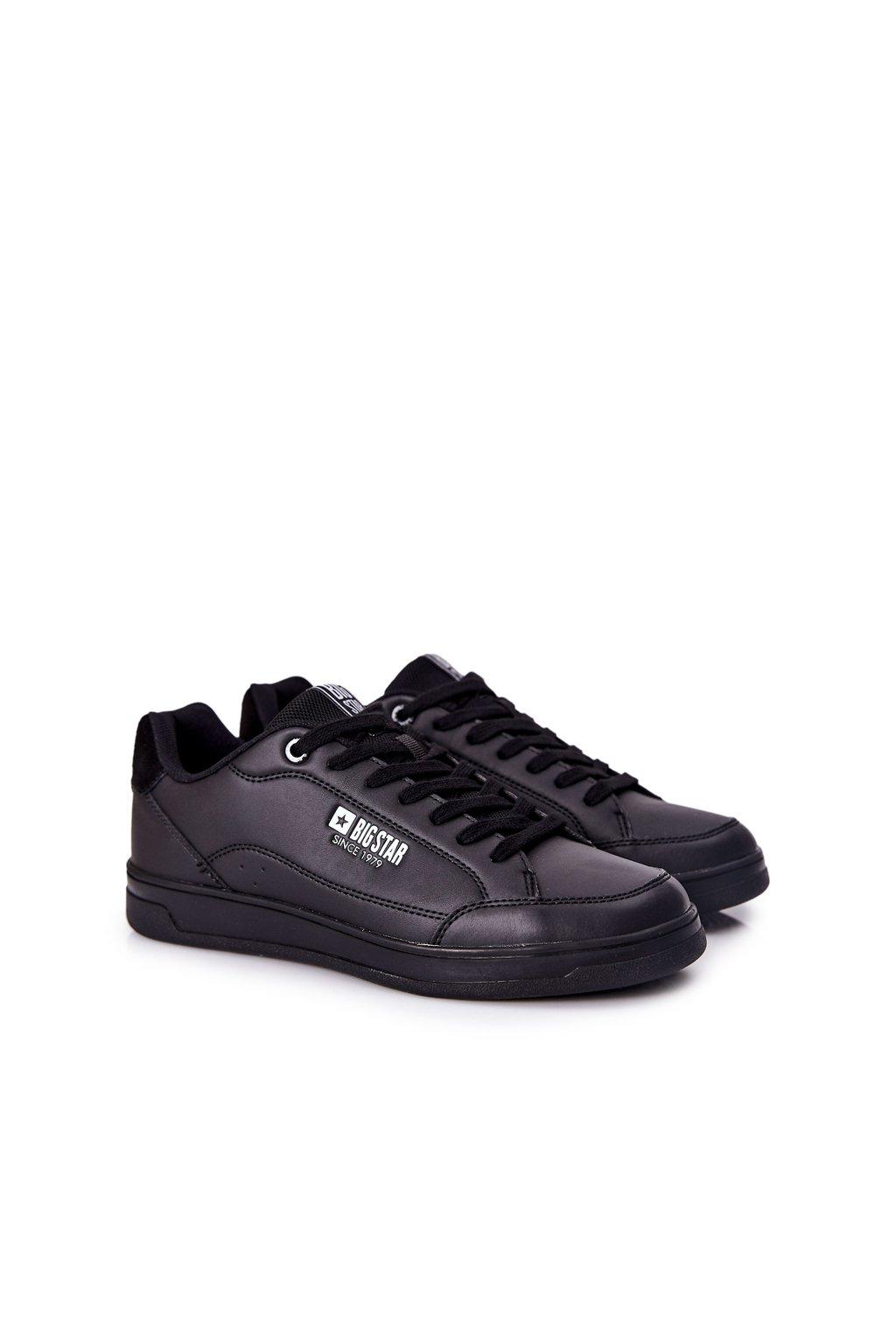 Čierna obuv kód topánok II174169 BLK