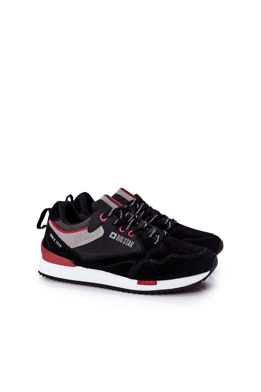 Čierna obuv kód topánok II174191 BLK