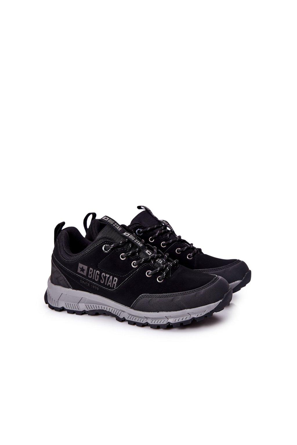 Čierna obuv kód topánok II174182 BLK