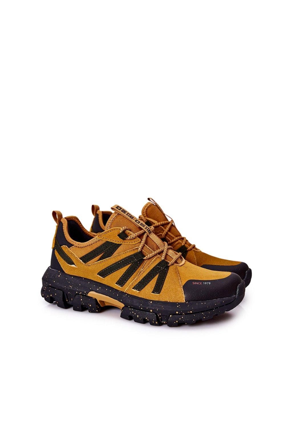 Hnedá obuv kód topánok II174234 CAMEL