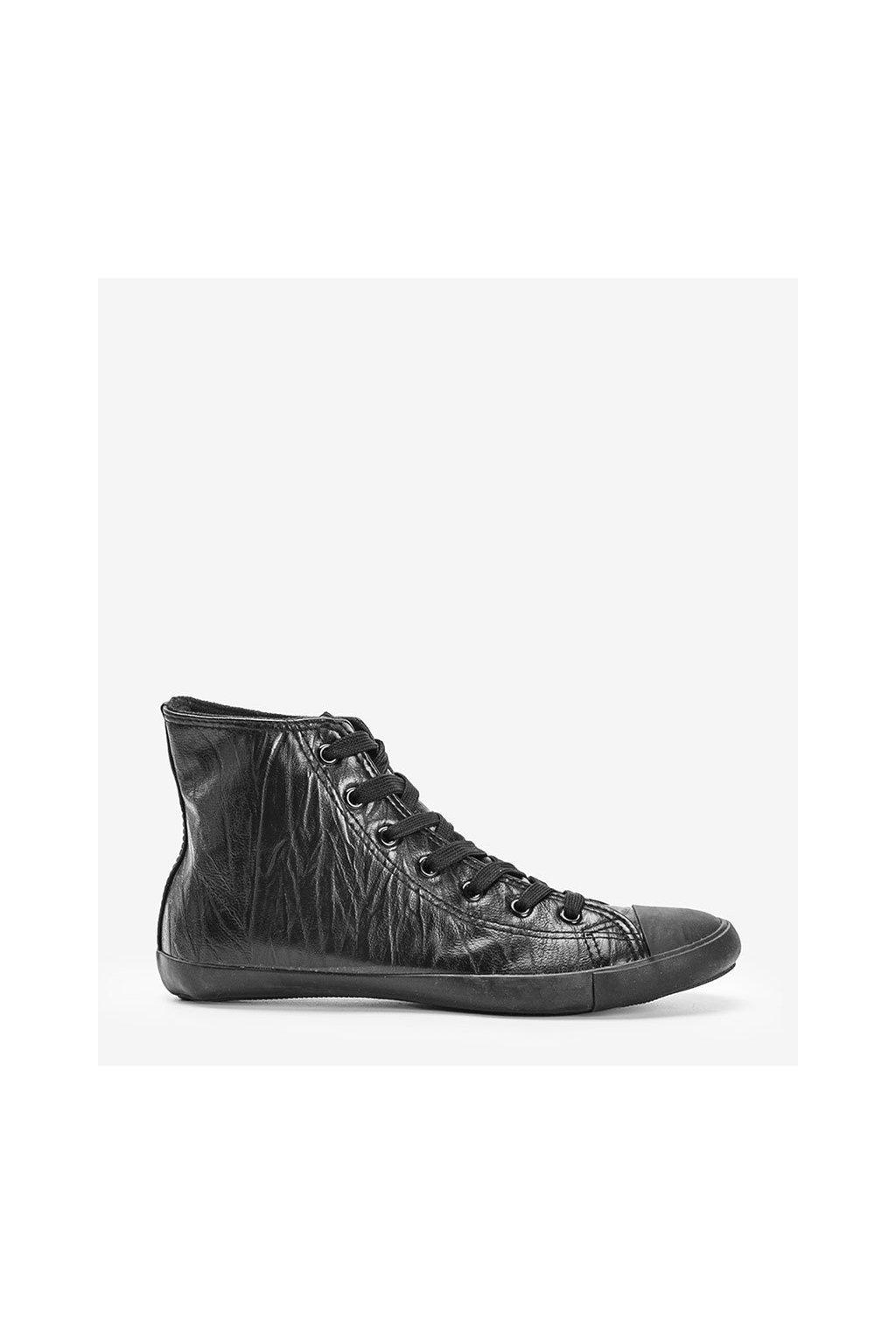 Dámske topánky tenisky čierne NJSK XJ0921 - GM