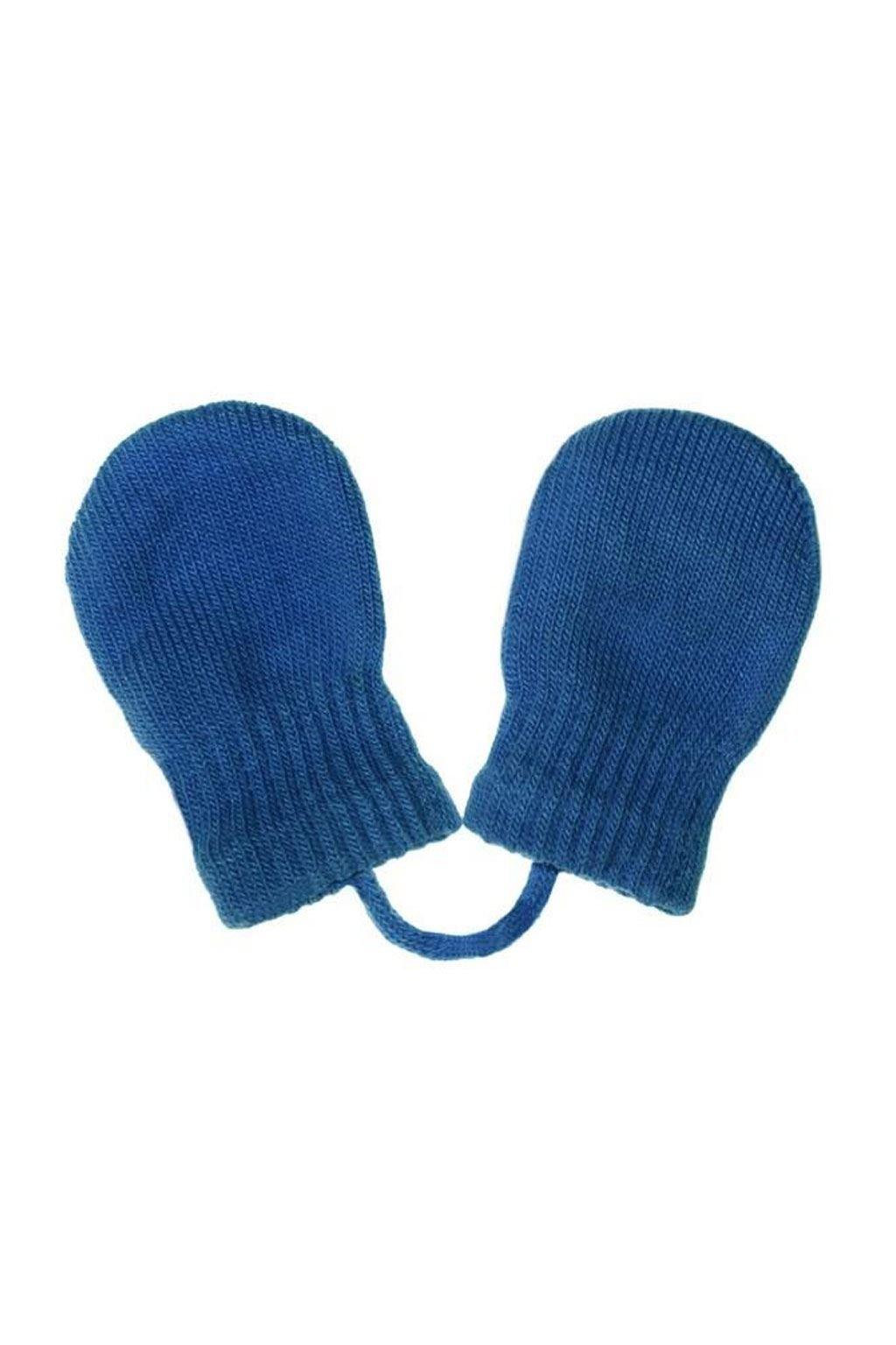Detské zimné rukavičky New Baby modré