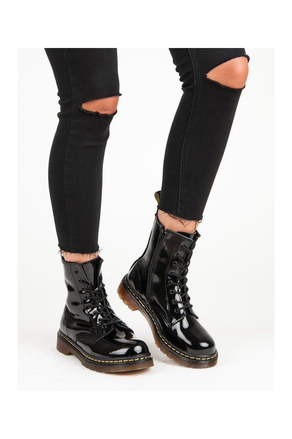 Čierne dámske topánky Mckey kod GL430/18B