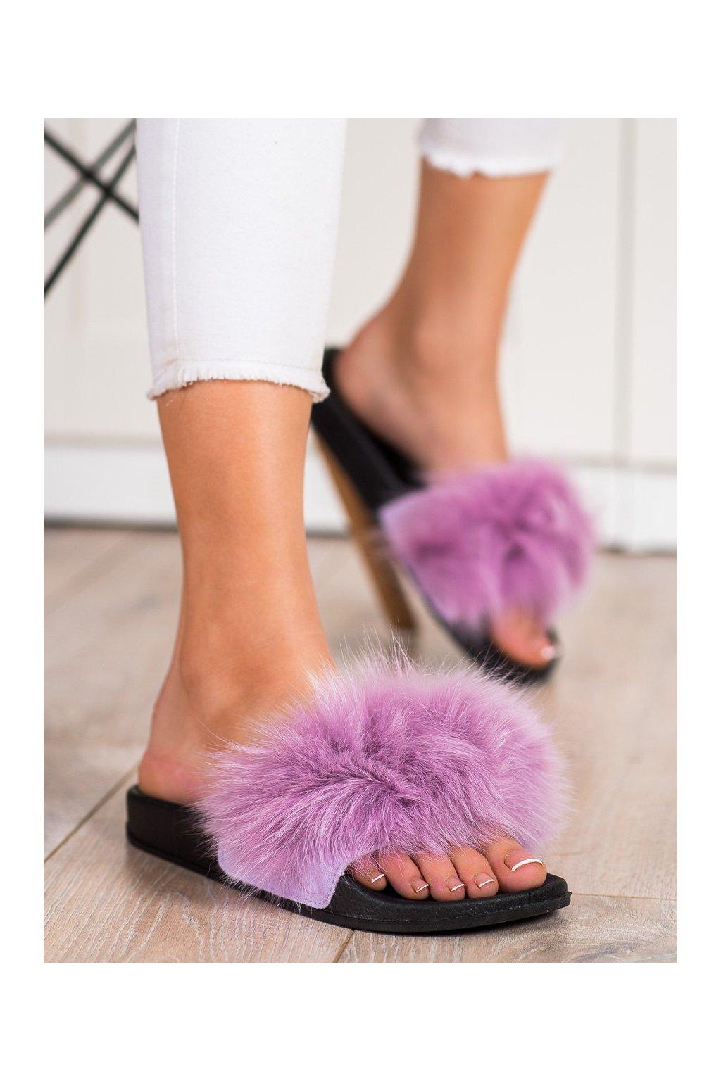 Fialové dámske topánky na doma Bona kod RS-45L.PU