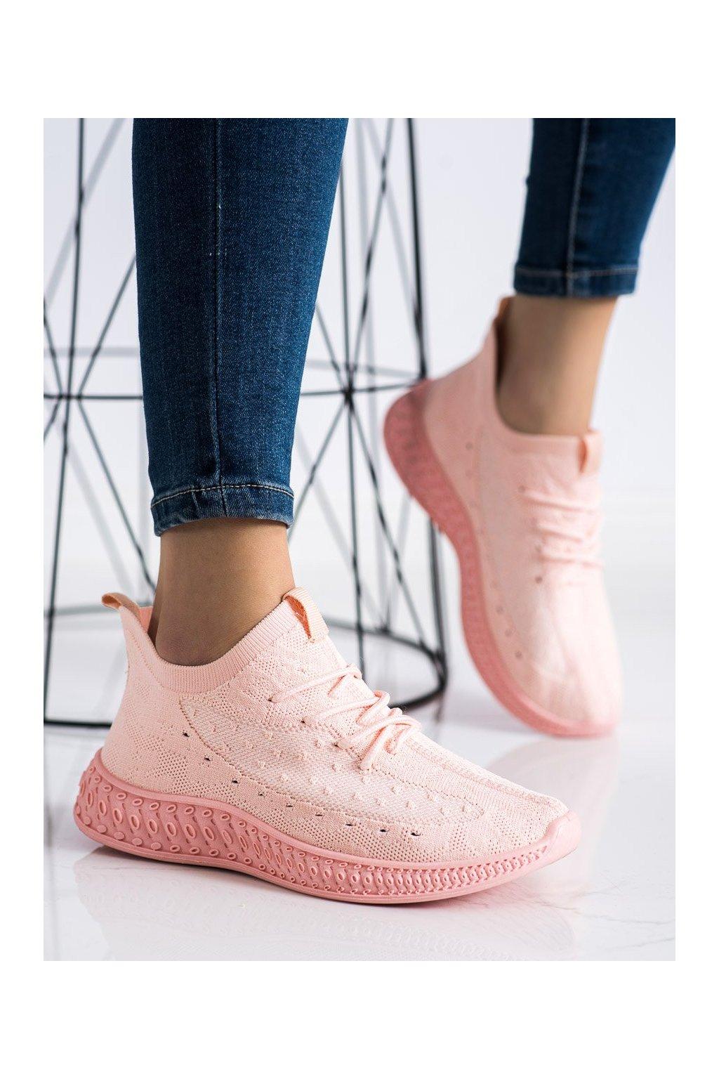 Ružové dámske tenisky Trendi kod PC01LT.P