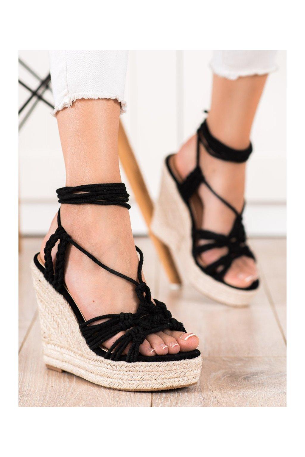 Čierne dámske sandále Seastar kod M319B