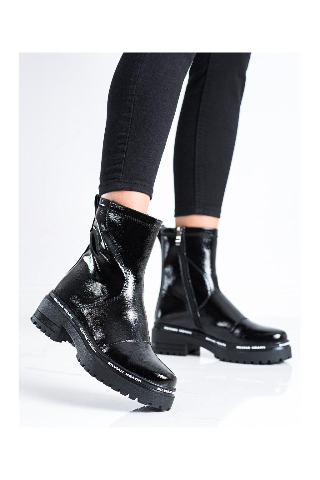 Čierne dámske topánky Filippo kod DBT3107/21B