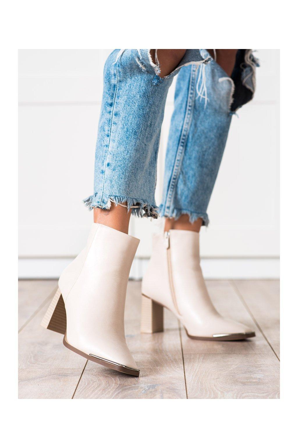 Hnedé dámske topánky Seastar kod NS211BE