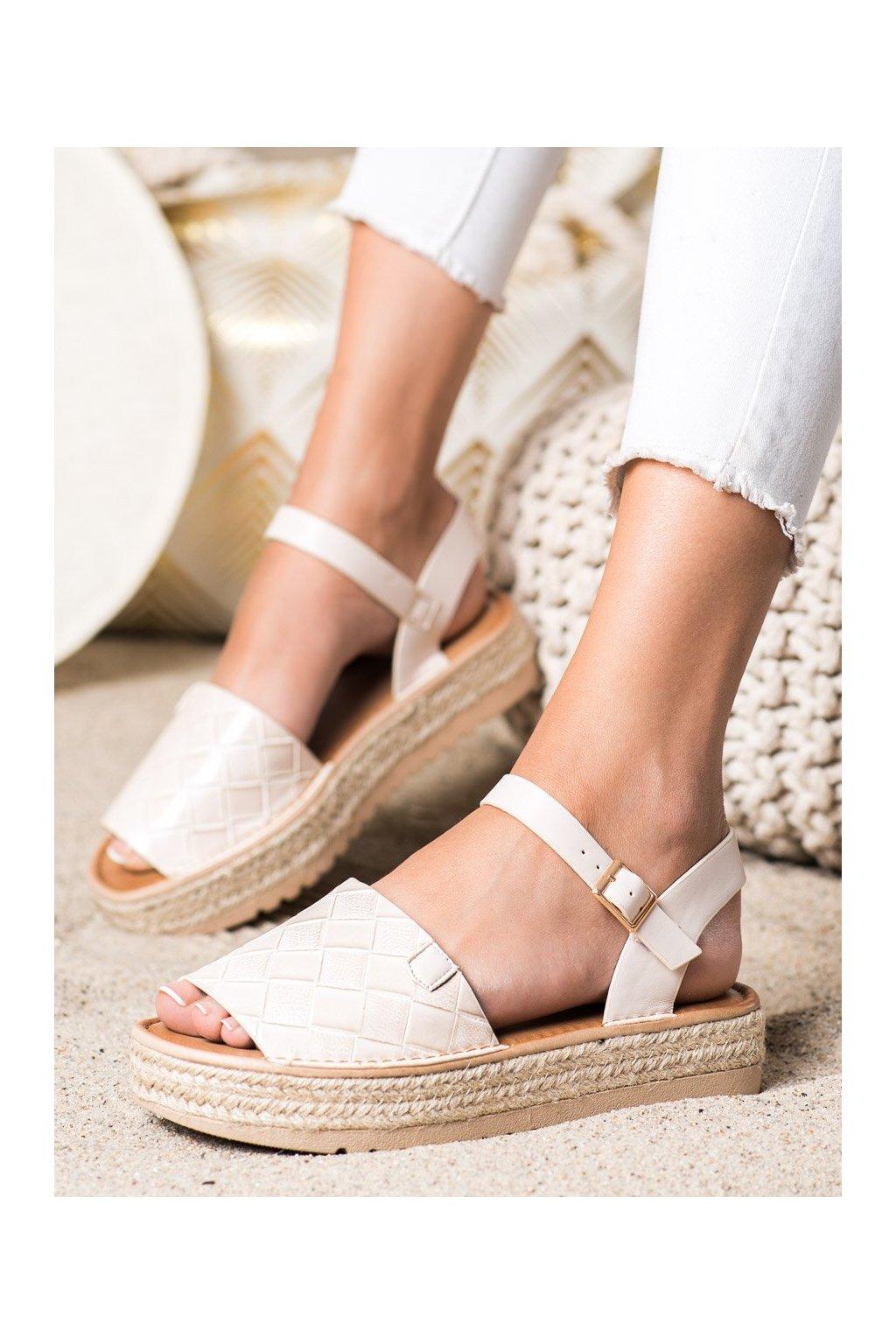 Hnedé dámske sandále Trendi kod HM82023BE