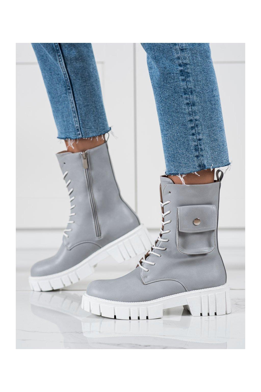 Sivé dámske topánky Seastar kod UK50L.G