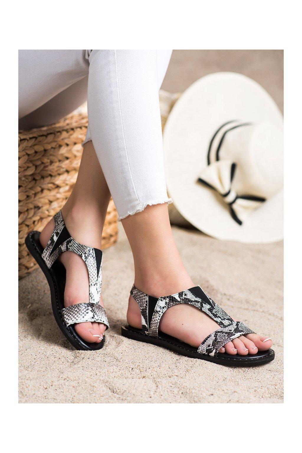 Zvierací motív dámske sandále Goodin kod YQ-87B