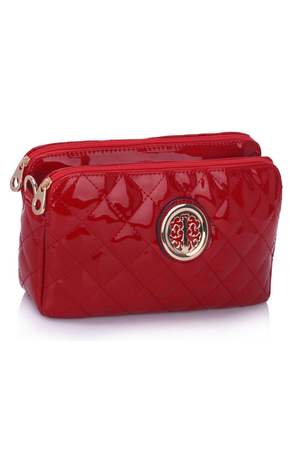 Crossbody kabelka Nadine červená LS00388