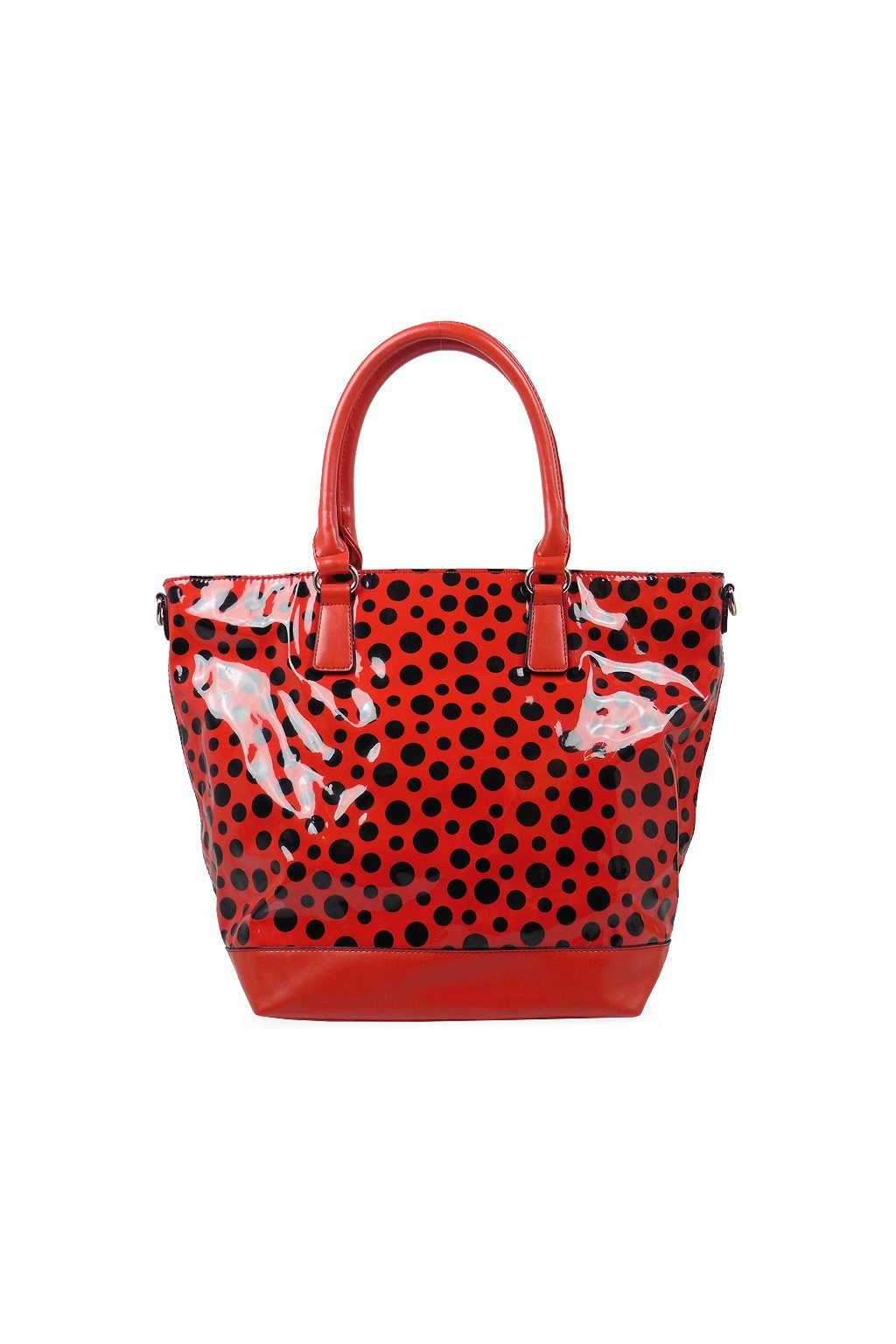 Červená kabelka David Jones CM0489