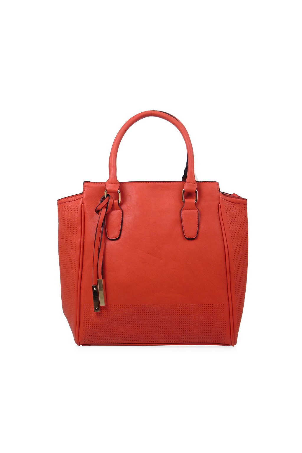 Červená kabelka do ruky Fengda 868