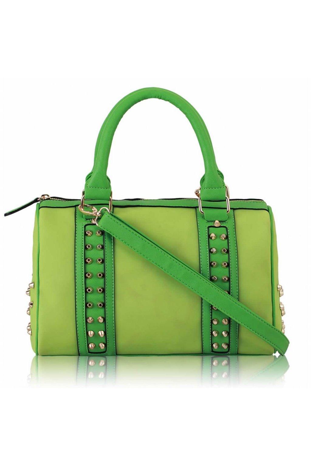 Kabelka do ruky Lesley zelená ls7007