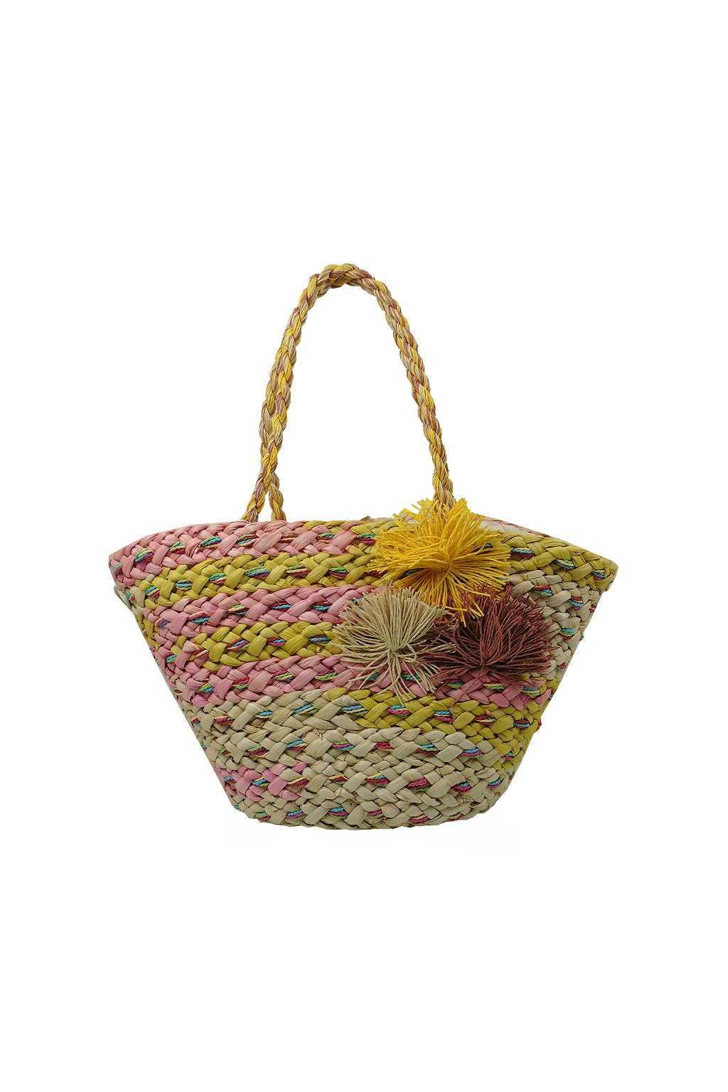 Letná plážová taška - žltá