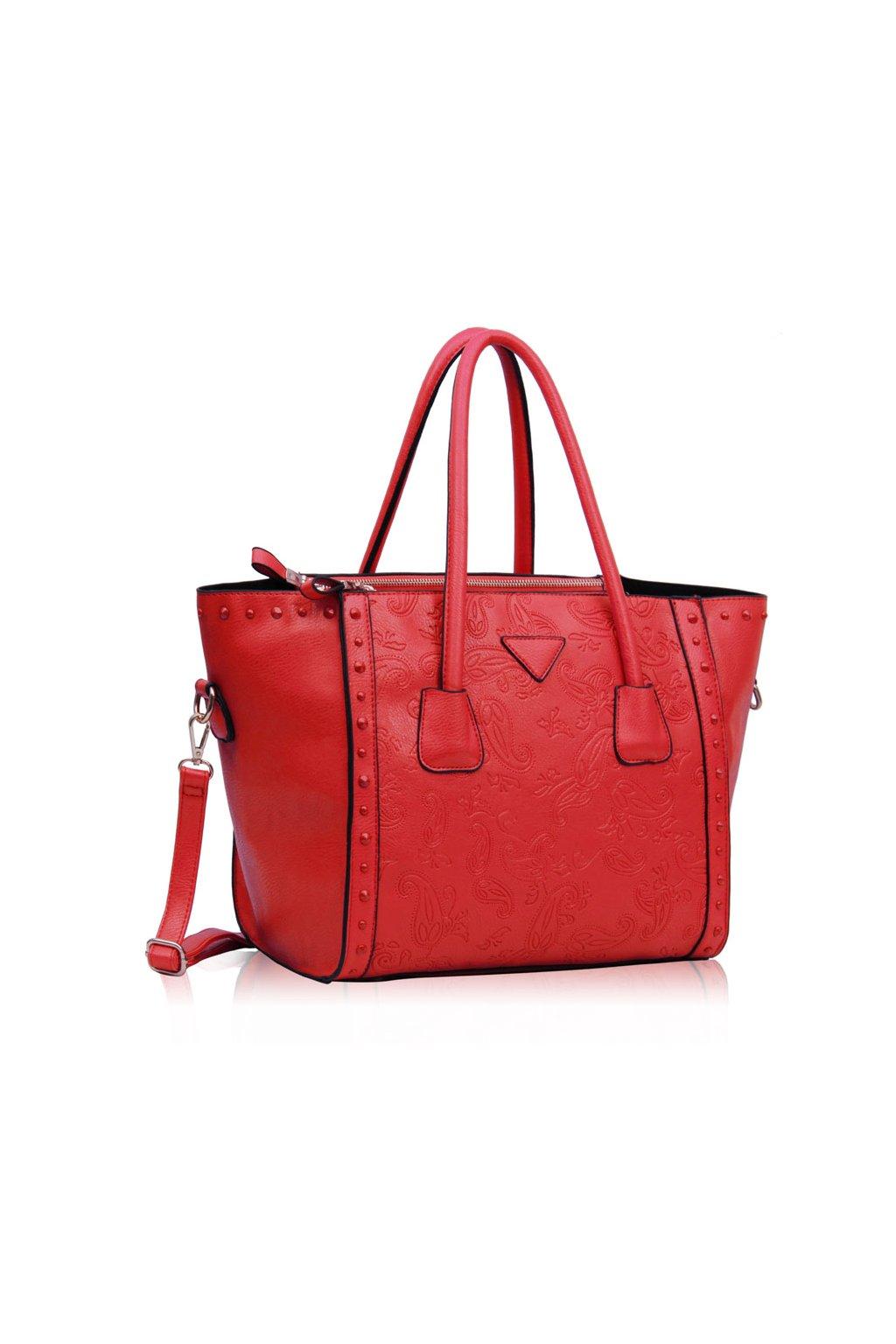 Shopper kabelka do ruky Adele červená LS00213