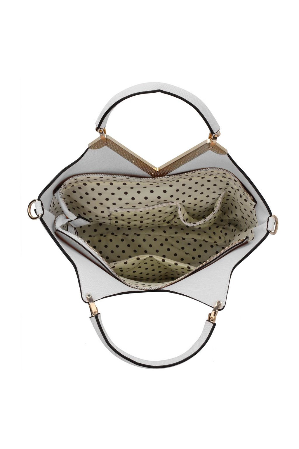 Shopper kabelka do ruky Bertie A biela LS00379A 16e76571cc0
