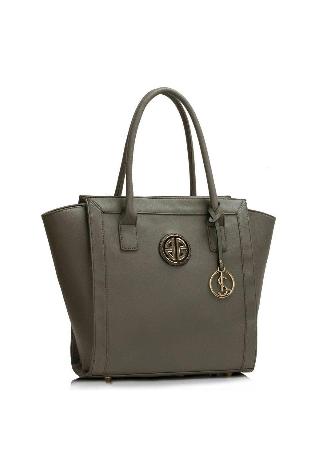 Shopper kabelka do ruky Carin sivá