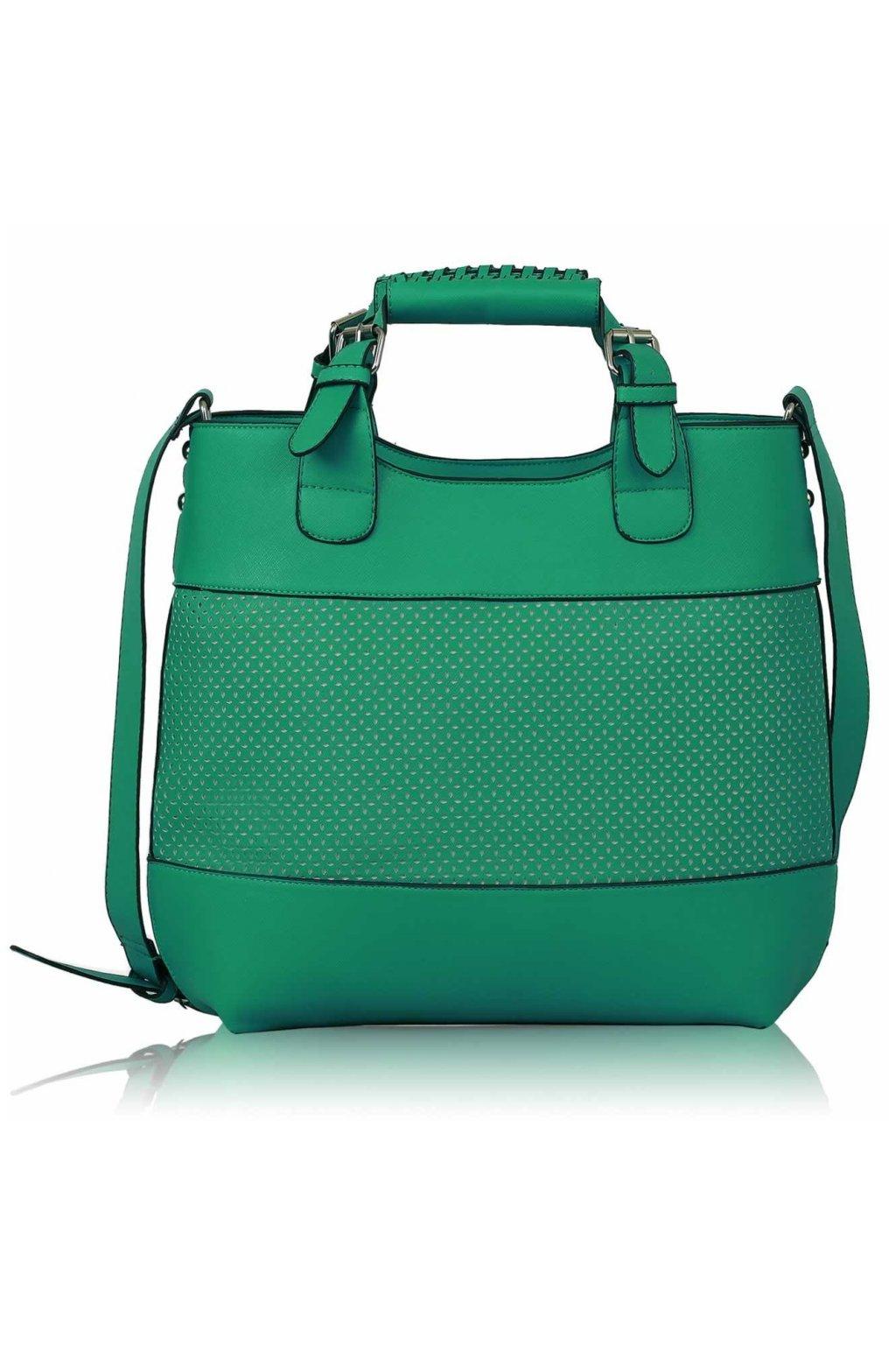 Shopper kabelka do ruky Delia C stredomorská LS00268A