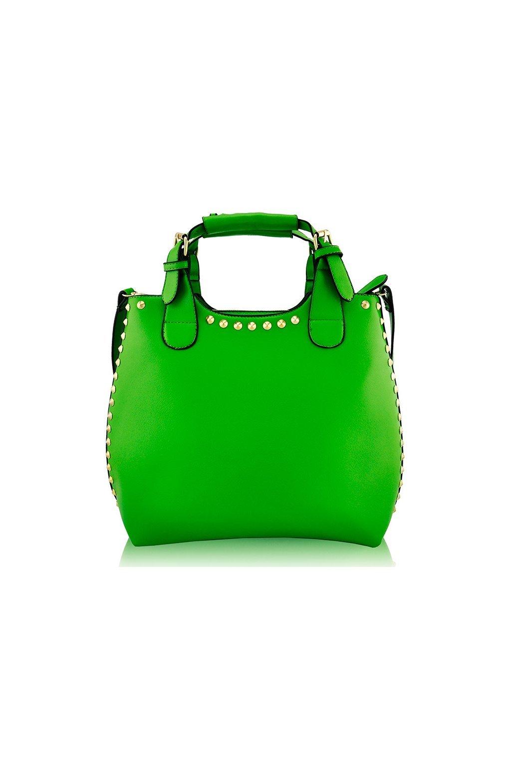 Shopper kabelka do ruky Delia G zelená LS00105