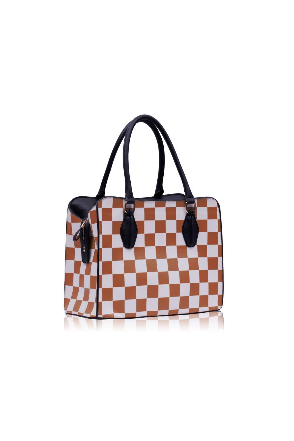 Shopper kabelka do ruky Dolly béžová LS00145