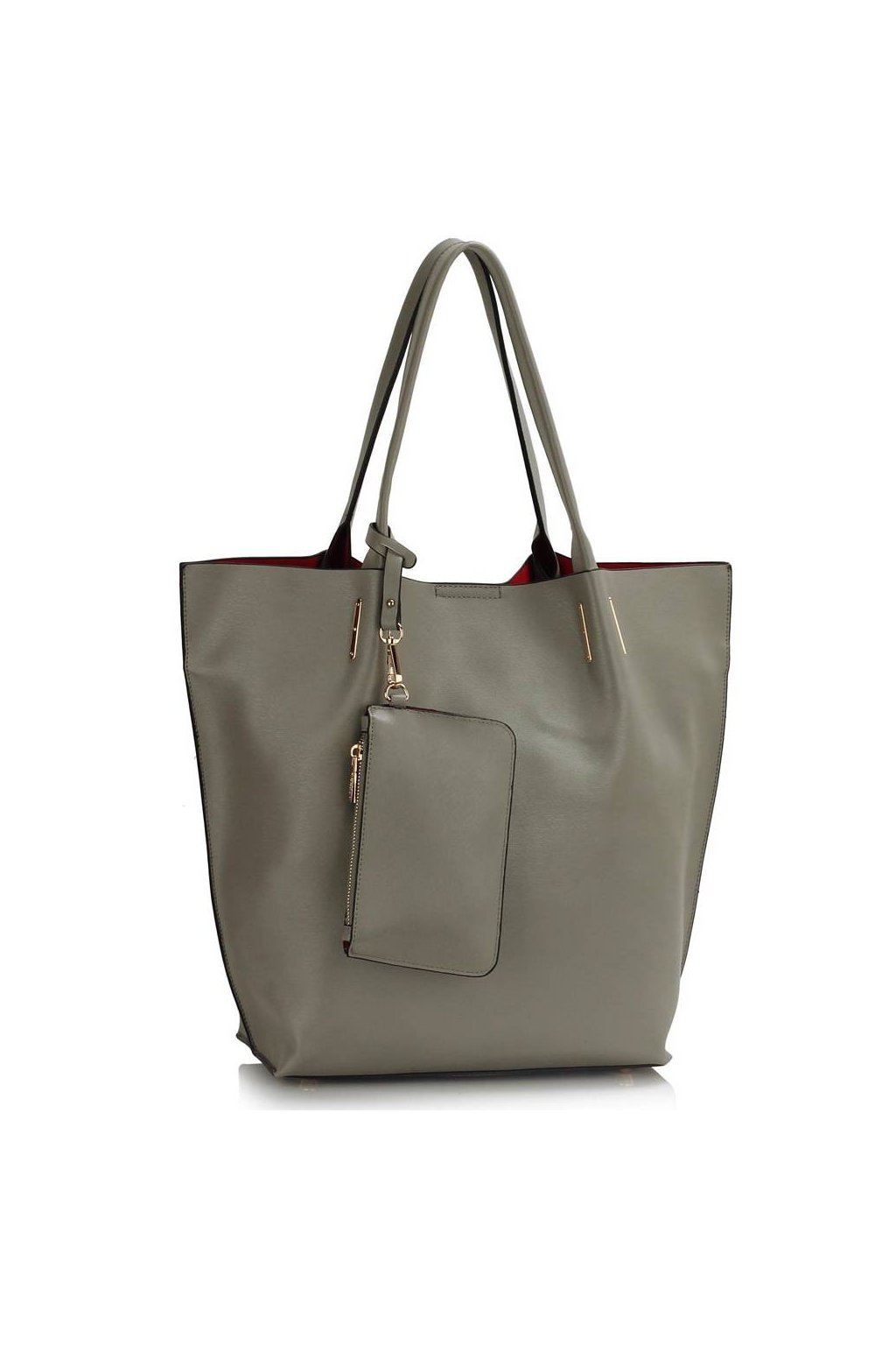 Shopper kabelka do ruky Dora sivá LS00442